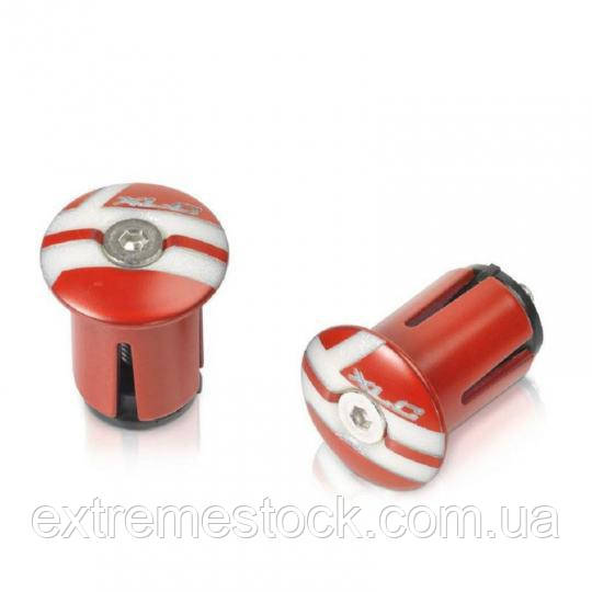 Заглушка в руль XLC GR-X02, красная