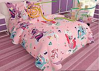 Детское постельное бельё в кроватку Май Литл Пони
