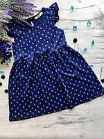 Летние платье для девочки Breeze. Размер c 104 см, 110 см, 116, 128 см, 134 см