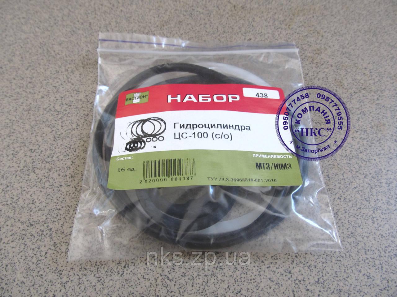 Ремонтний комплект гідроциліндра ЦС-100 старого зразка.