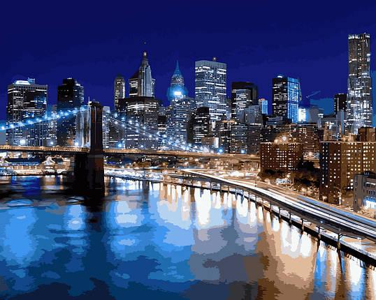 VP940 Набор-раскраска по номерам Огни Нью Йорка, фото 2