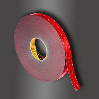 Двусторонняя клейкая лента 3M GPH 110GF VHB (6 мм х 33 м х 1.1 мм.) Высокотемпературная. 110