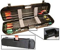 Кейс пластмассовый MTM Arrow Plus Case для 36 стрел и прочих комплектующих. Размеры – 91,5х26х13 см