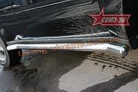 Пороги труба d 76 Союз 96 на Chevrolet TrailBlazer 2001-2004