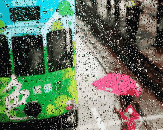 VP954 Набор-раскраска по номерам Дождливый день, фото 2