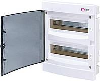 Щит внутренней распределительный ЕСМ 24 РТ (24 мод. прозрачная дверь) 1101012