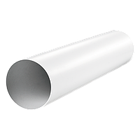 Пластиковый канал круглый 100, длина 1 м