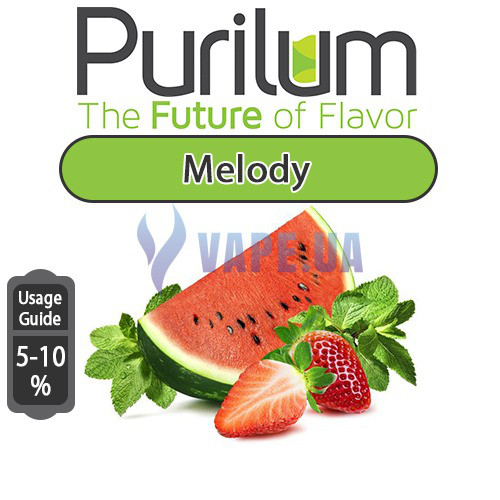 Ароматизатор Purilum - Melody (Микс из арбуза и клубники с мятной ноткой )
