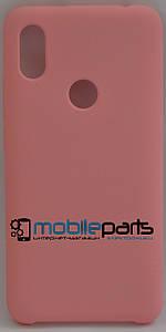 Оригинальный Силиконовый Чехол для Xiaomi Redmi S2 (Розовый)