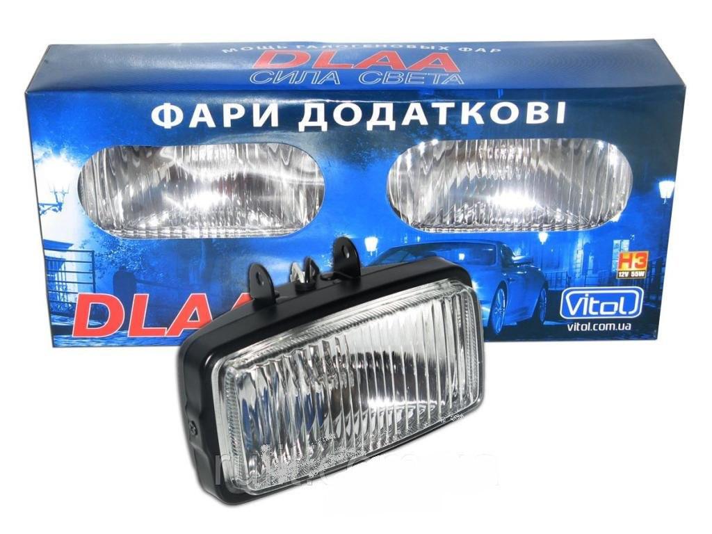 Фары доп. DLAA 1030 B-W/H3-12V-55W/163*88mm