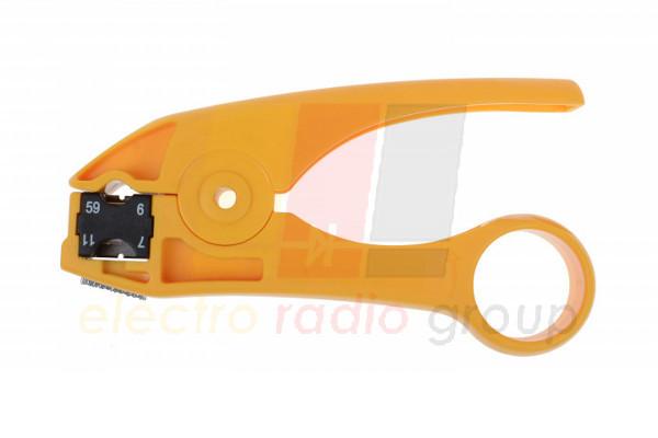 Инструмент HT-351 для зачистки коаксиального кабеля RG-59,6,7,11