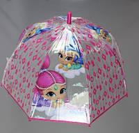 Зонтик детский для девочек Disney оптом.