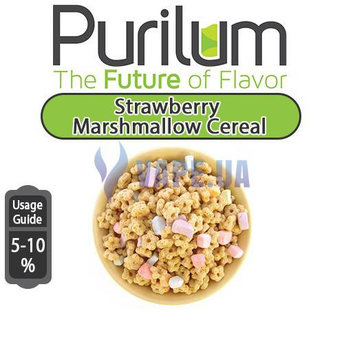 Ароматизатор Purilum - Strawberry Marshmallow Cereal (Полуничний зефір і рисові хлопь)