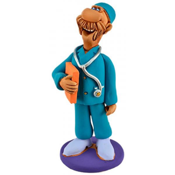 Статуэтка Доктор из керамики