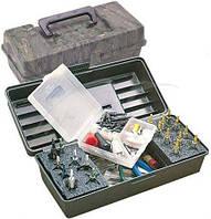 Коробка пластмассовая MTM Magnum Broadhead Box для 20 наконечников стрел и прочих комплектующих.