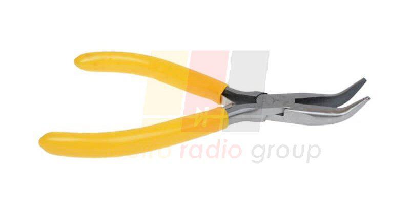 Длинногубцы изогнутые R'Deer RT-508, жёлтые