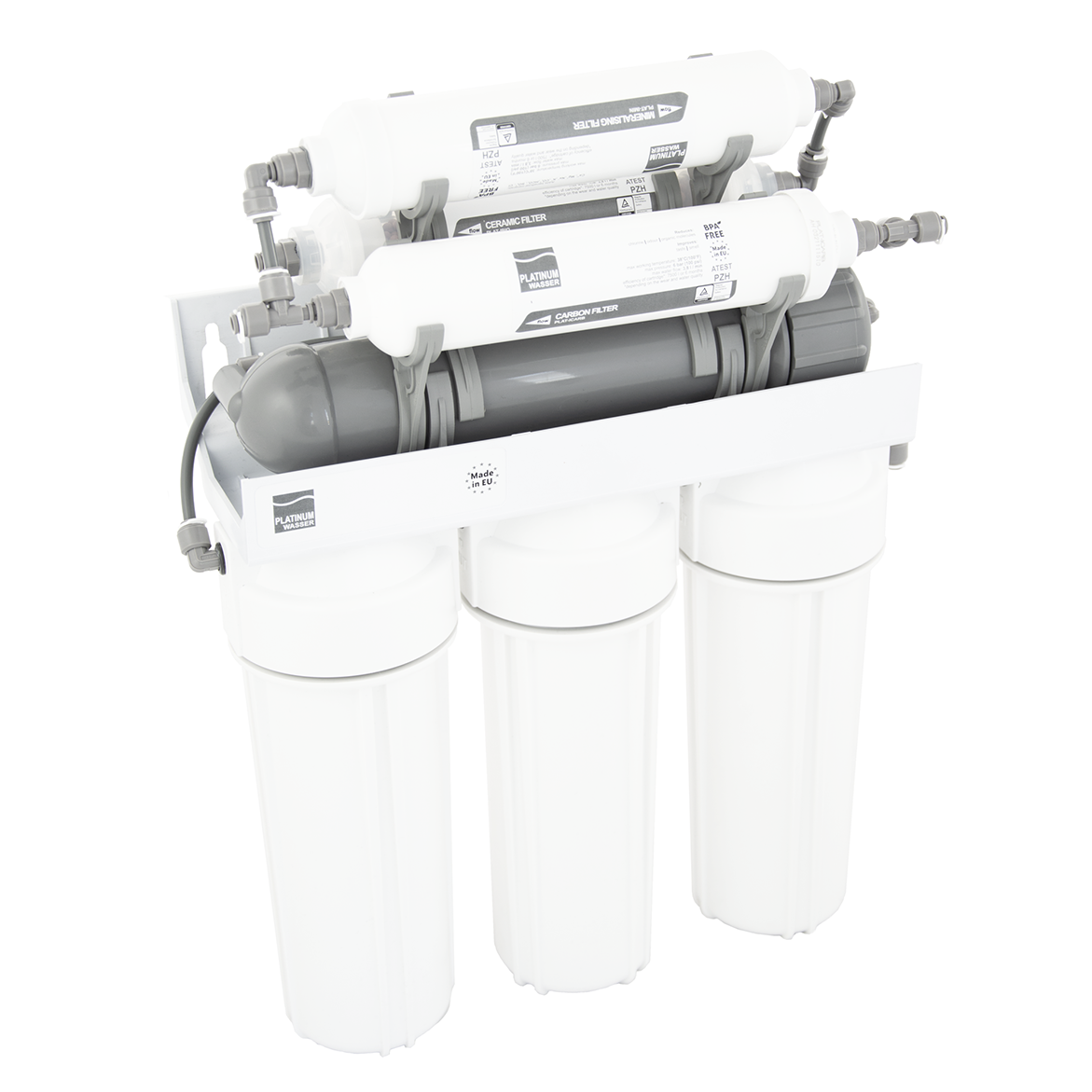 Platinum Wasser Ultra 7, система обратного осмоса с минерализатором (RO7 PLAT-F-ULTRA7)