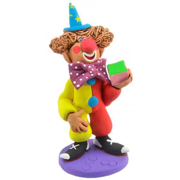 Статуэтка из керамики Клоун