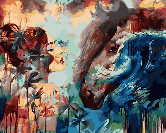 VP978 Набор-раскраска по номерам Брызги океана худ. Димитра Милан, фото 2