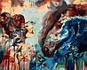 VP978 Набор-раскраска по номерам Брызги океана худ. Димитра Милан