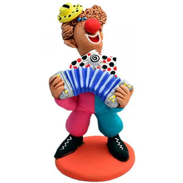 Фигурка из керамики Клоун