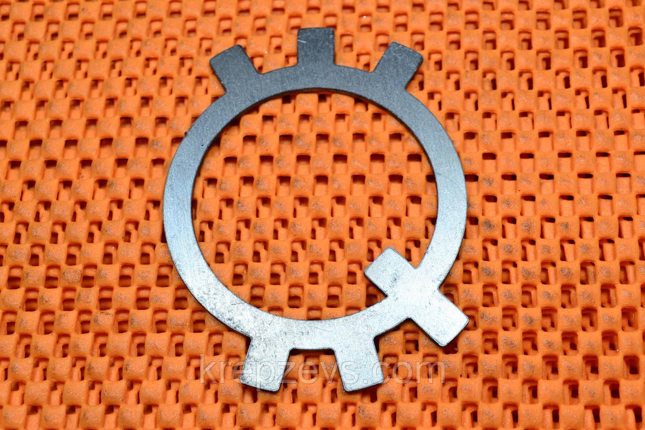 Шайба 125 DIN 5406, ГОСТ 11872-80 стопорная многолапчатая