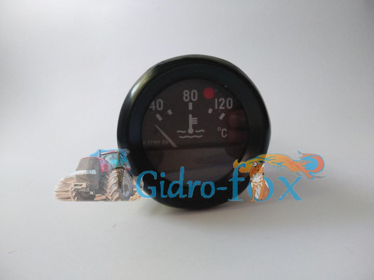 Указатель температуры воды МТЗ 24В электрический Кт.Н. УК171М