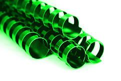 Пружина пластиковая 28 мм, зеленые (50 шт.)