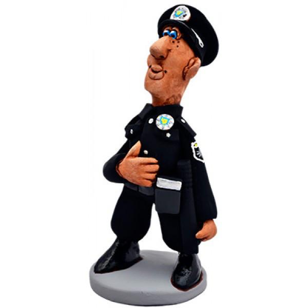 Статуэтка из керамики Полицейский