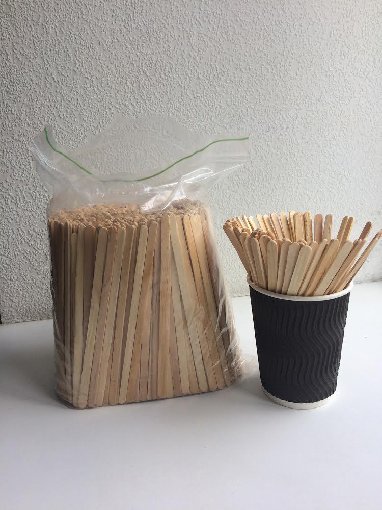 Мешалки для кофе деревянные, 800 шт/уп.