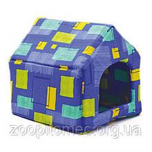Будиночок для кішок і собак Хатка Стандарт №0, 26*27*27