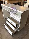 Маникюрный стол с удобными ящиками, белый, фото 5