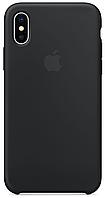 Чехол накладка xCase для iPhone X/XS Silicone Case черный