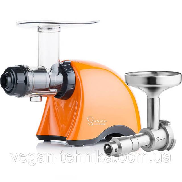 Соковыжималка Sana Juicer 707 Pearl Orange + Маслопресс Sana Oil Extractor EUJ-702