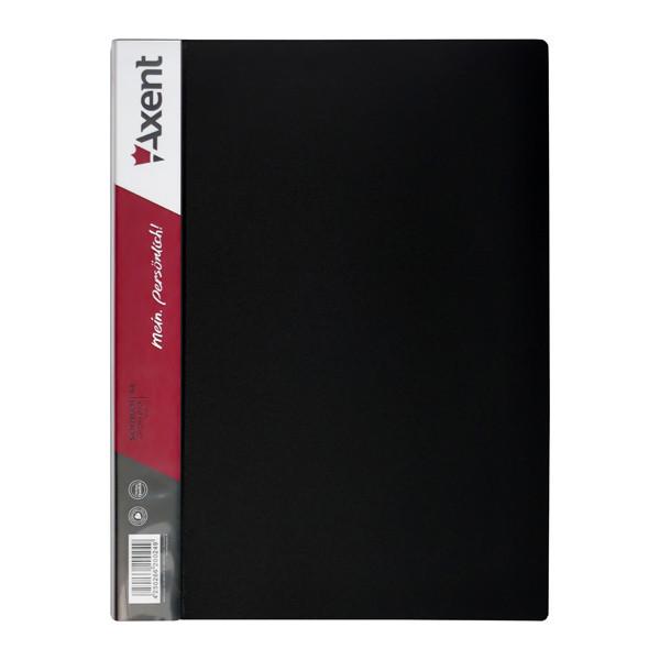 Дисплей-книга 80 файлов, чорная, 1280-01-A