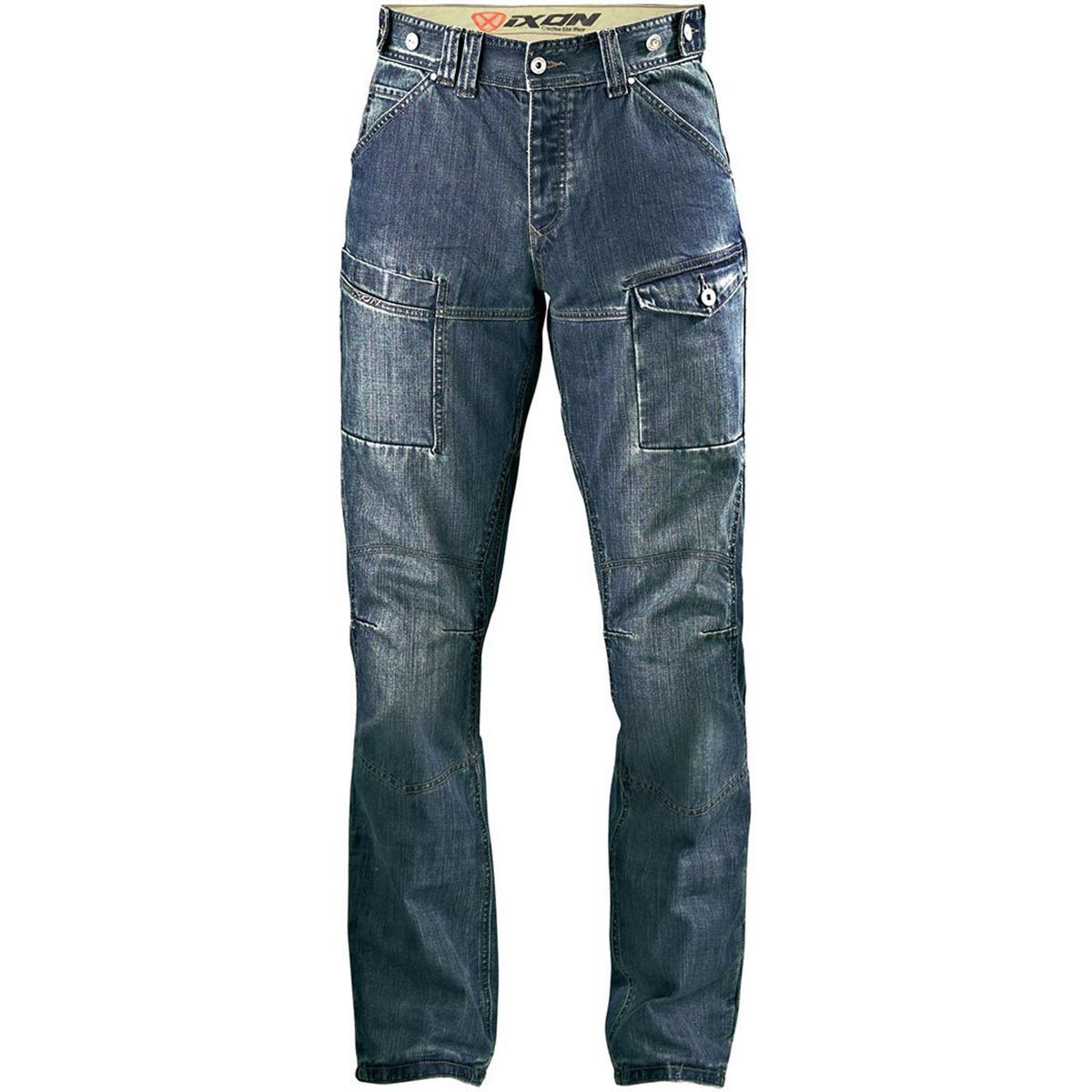 Джинсовые брюки Ixon Sawyer Stonewash р. M (с кевларовыми вставками)