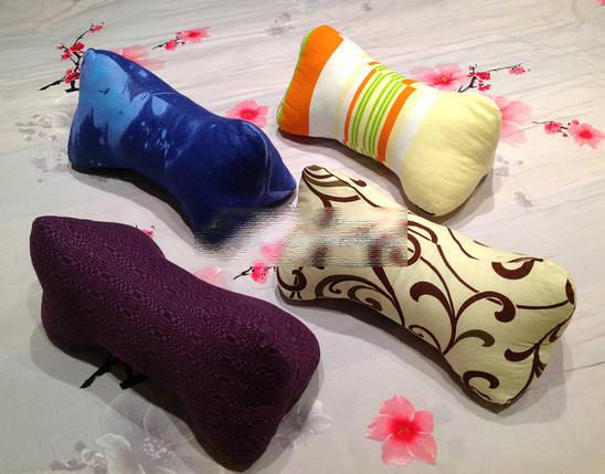 Ортопедическая подушка косточка цветная, фото 2