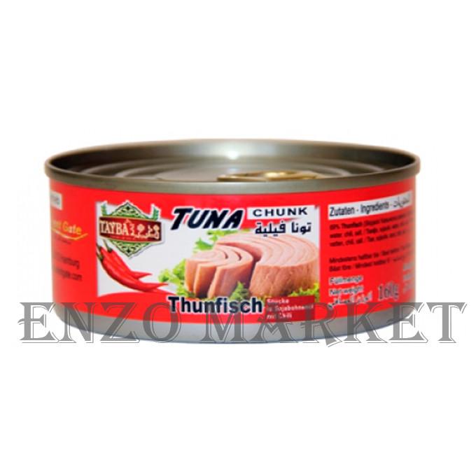 Тунец thunfisch chunk tayba, 160 грамм