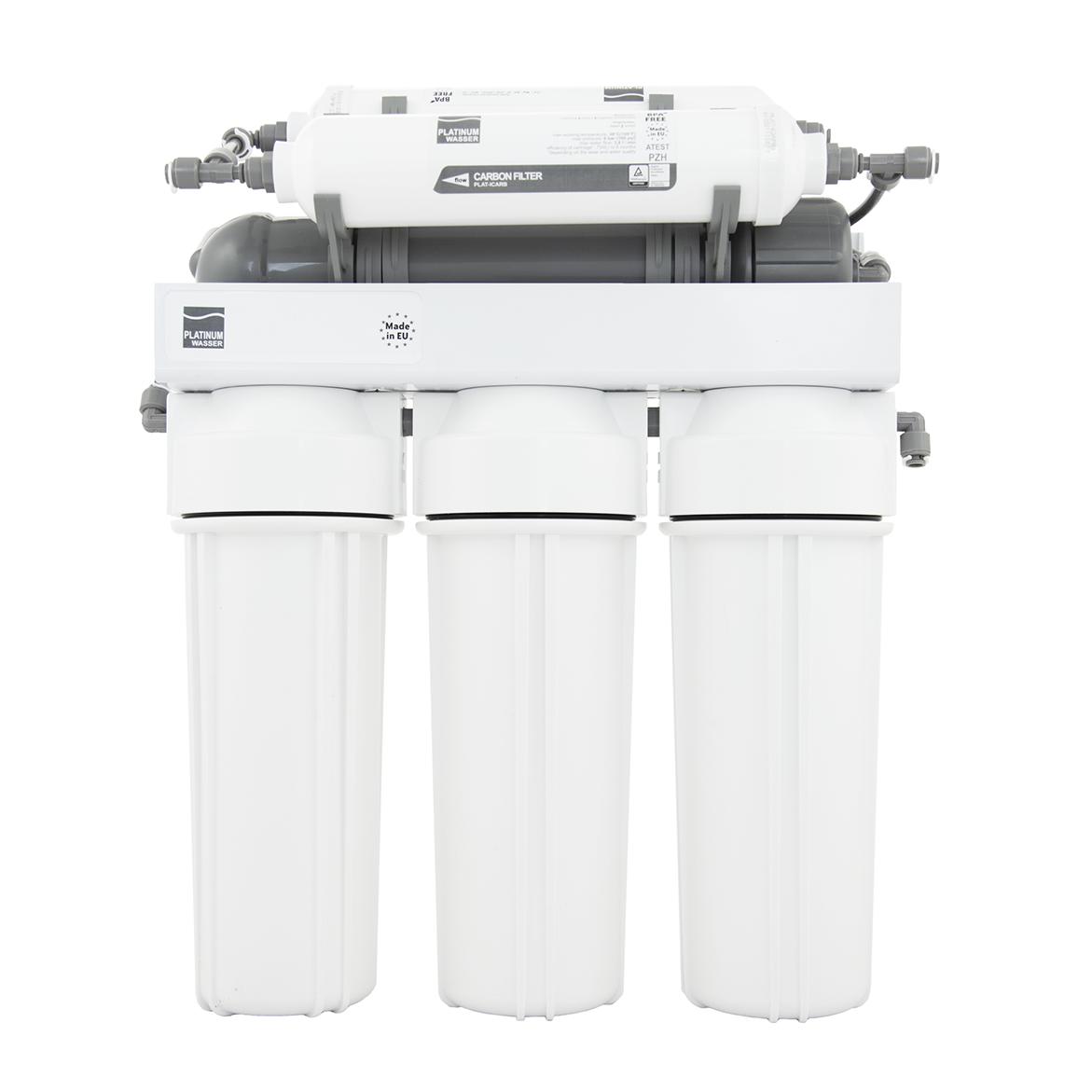 Platinum Wasser Ultra 6P, система обратного осмоса с насосом и минерализатором (RO6P PLAT-F-ULTRA6B)