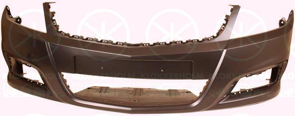 Передний бампер Opel Vectra C (06-09) грунт (FPS) 13182889
