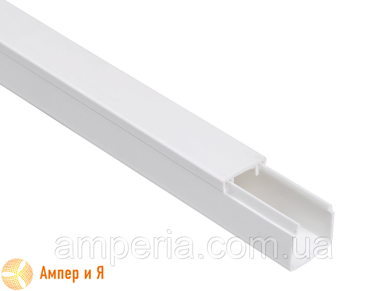 IEK Короб пластиковый, кабель-канал «ЭЛЕКОР» 12х12 мм, 2м (CKK10-012-012-1-K01)