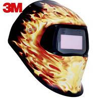 """Сварочная маска 751220 Speedglas 100 V """"Огненный"""""""