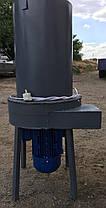 Измельчитель сена (соломы), травы, бумаги, гумуса, перегноя, компоста, опилок, 3 кВт,  250 кг/час, фото 3