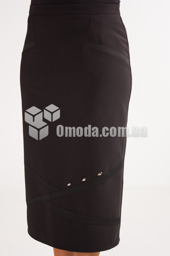 Женская юбка Аврора черного цвета