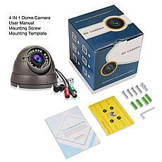 Купольная камера видеонаблюдения Hykamic 1080P HD 2.8-12 mm, фото 3