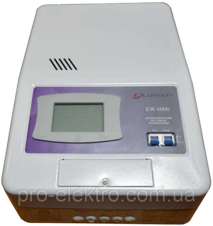 Стабилизатор напряжения Luxeon EW 6000