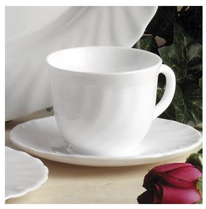 Кофейный сервиз из 12 предметов (чашки 160 мл) Luminarc Trianon 51946