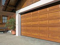 Достоинства гаражных  ворот секционного типа с боковым откатом
