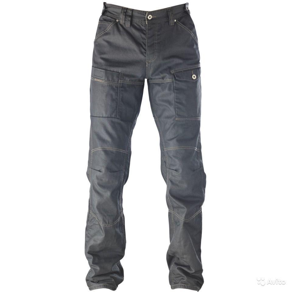 Джинсовые брюки Ixon Sawyer black р. 08-XXL (с кевларовыми вставками)