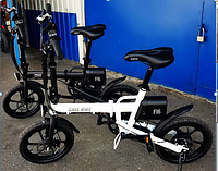 Велосипед электрический SMK рама сталь, алюминевый сплав цвета: белый,чёрный